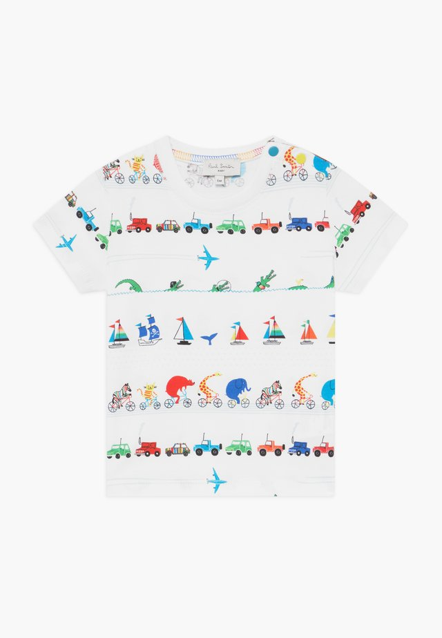 ARESKI - Print T-shirt - white