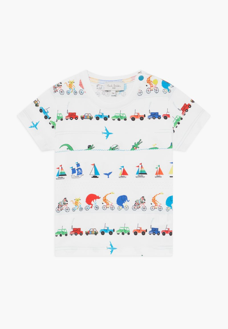 Paul Smith Junior - ARESKI - Print T-shirt - white