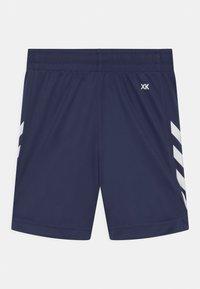 Hummel - CORE POLY UNISEX - Sports shorts - marine - 1