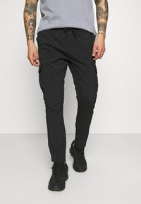 Brave Soul - MARINES - Cargo trousers - black - 0