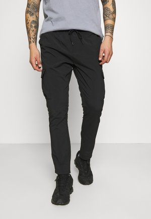 MARINES - Cargo trousers - black