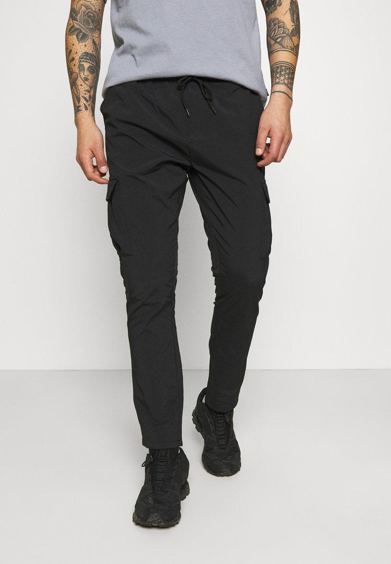 Brave Soul - MARINES - Cargo trousers - black