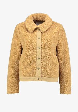 PORTLAND COMP SHERPA JACKET - Zimní bunda - natural