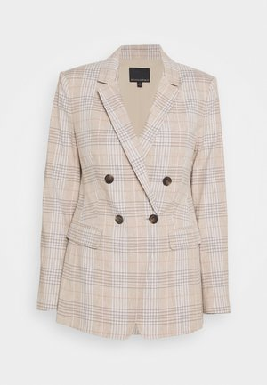 SLIM CAMILLA PLAID - Blazer - warm neutral