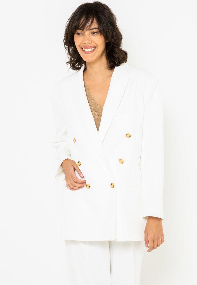 MI-LONG - Manteau court - off-white