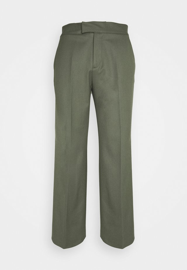 PARKER TUXEDO TROUSERS - Trousers - olive