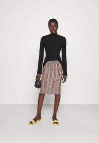 M Missoni - MOCK NECK - Long sleeved top - black beauty - 1