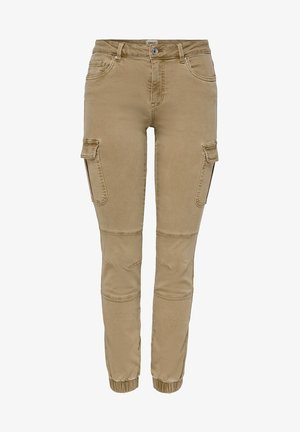 Cargo trousers - tigers eye