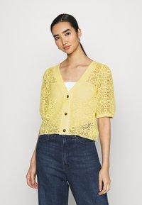 Monki - Cardigan - yellow - 0