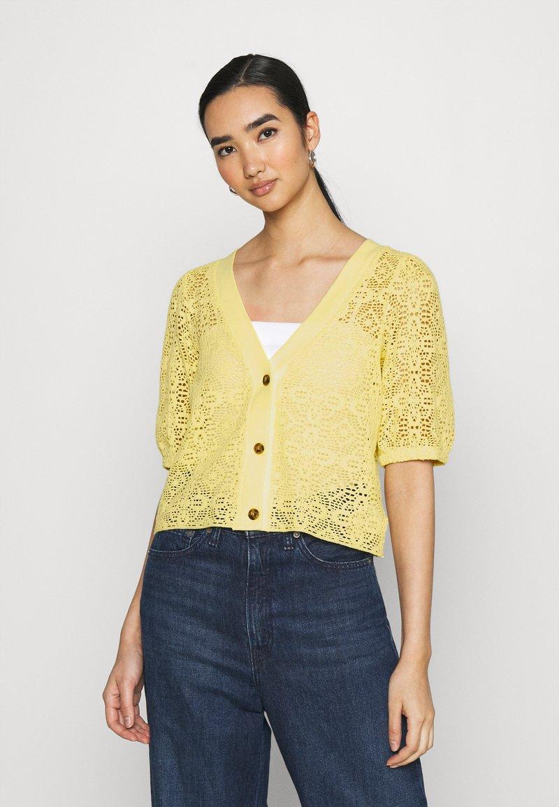 Monki - Cardigan - yellow