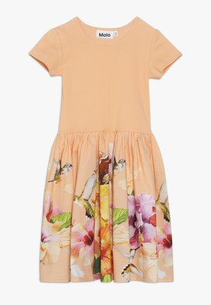 CISSA - Day dress - apricot/multi-coloured