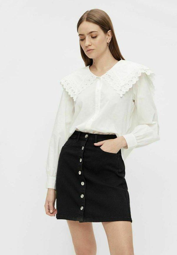 Pieces Koszula - bright white/mleczny PMNK