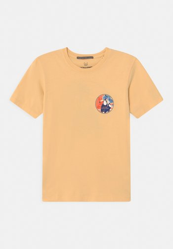 JORTROPICANACARD TEE CREW NECK JR - T-shirt con stampa - sahara sun