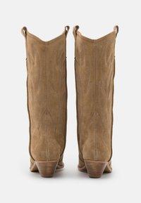 L37 - WANNA KNOW U - Cowboy-/Bikerlaarzen - brown - 3
