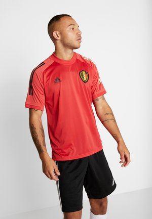 BELGIUM RBFA TRAINING SHIRT - Klubbkläder - glow red