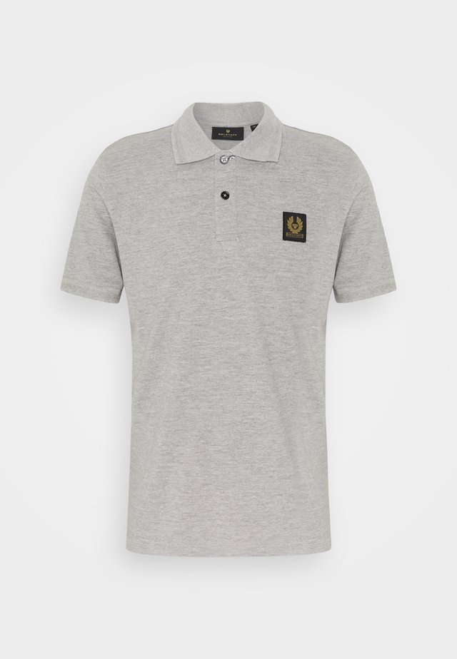 SHORT SLEEVED - Polo - grey melange