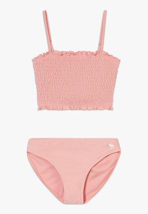SMOCKED SET - Bikini - blush