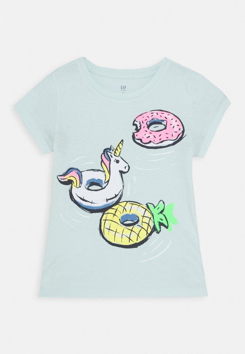 GAP - GIRLS - T-shirt print - azul