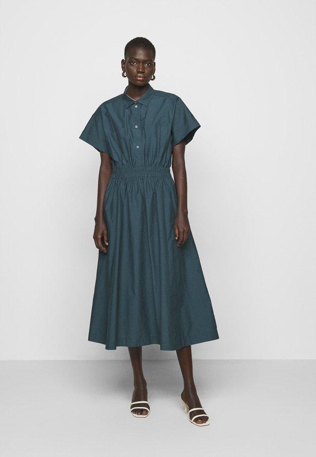 WOMENS DRESS - Shirt dress - petrol