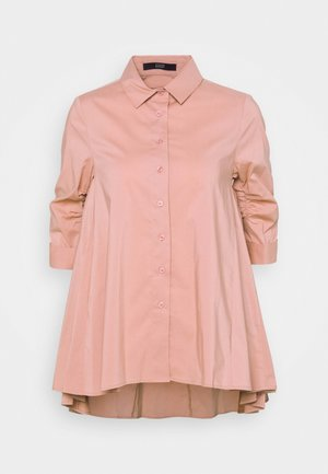 BENITA FASHIONABLE BLOUSE - Button-down blouse - blush rose