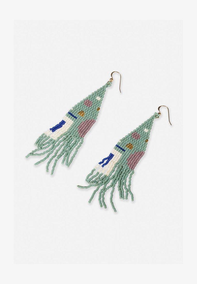 FOLKDAYS - Earrings - blau