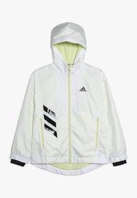 adidas Performance - Training jacket - white/yeltin/black - 0