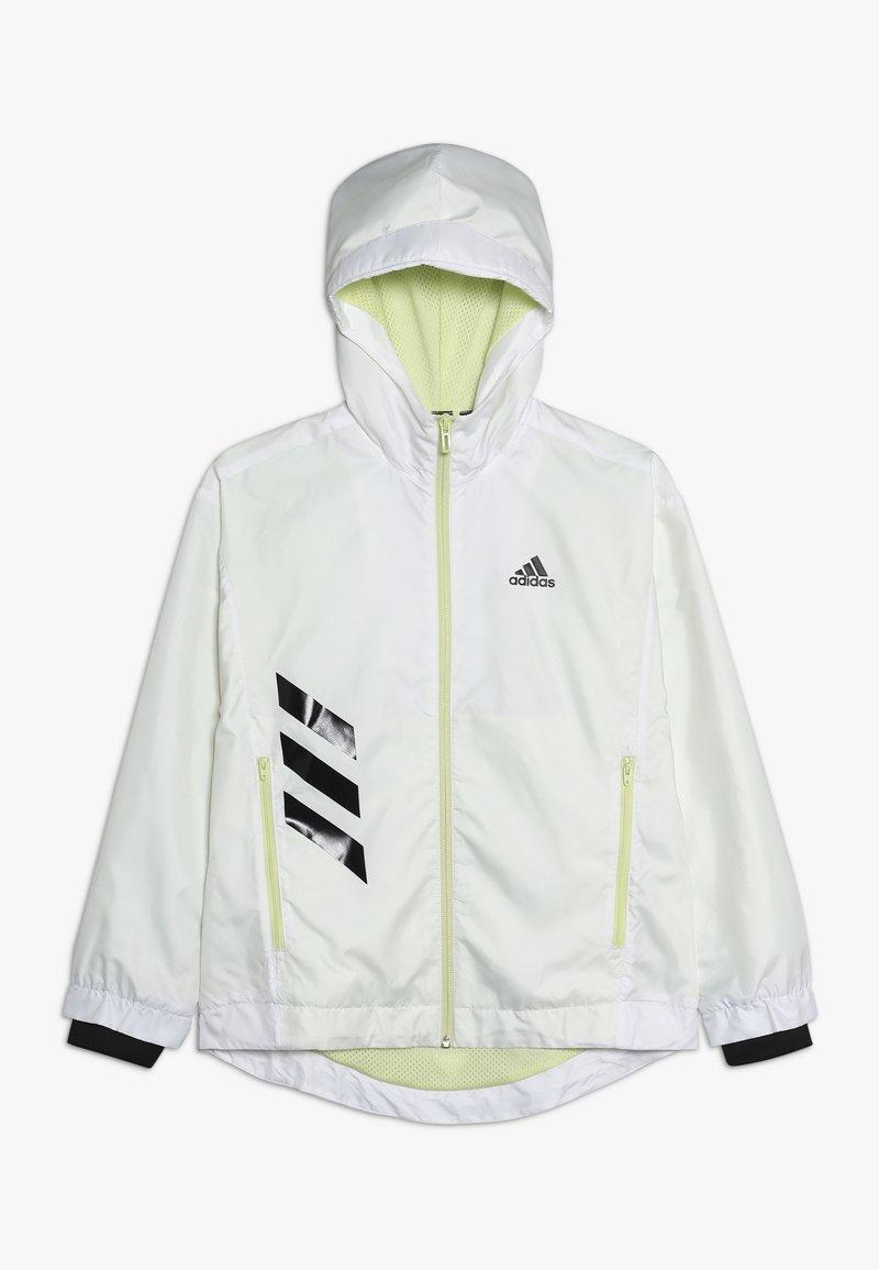 adidas Performance - Training jacket - white/yeltin/black