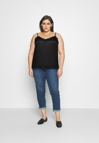 ONLY Carmakoma - CARSIS SINGLET - Top - black - 1
