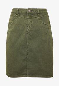 Cream - AMALIE SKIRT - Pencil skirt - burnt olive - 3