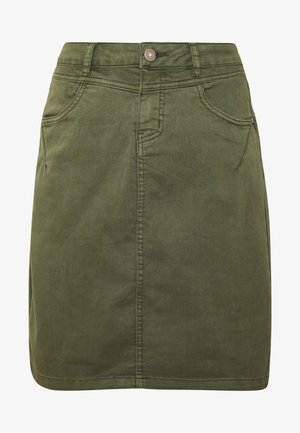AMALIE SKIRT - Pencil skirt - burnt olive
