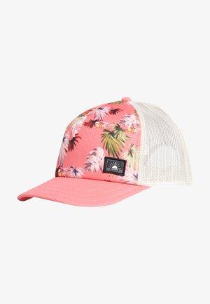 Cap - brushed pink palm