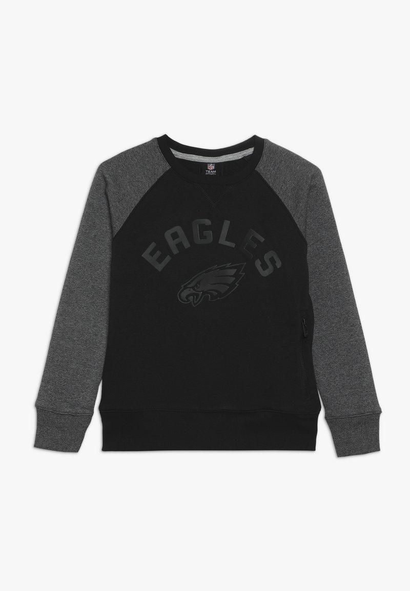 Outerstuff - NFL PHILADELPHIA EAGLES TITANIUM - Klubové oblečení - black