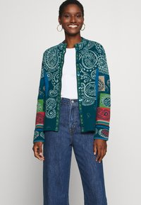 Ivko - JACKET EMBROIDERY - Cardigan - pacific - 5