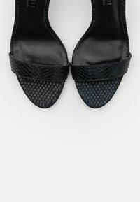 Madden Girl - BEELLA - High heeled sandals - black - 5