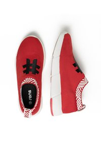 Rens Original - WATERPROOF COFFEE SNEAKERS - Sneakers laag - passion red - 1