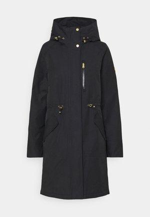 RUEKA JACKET - Classic coat - black