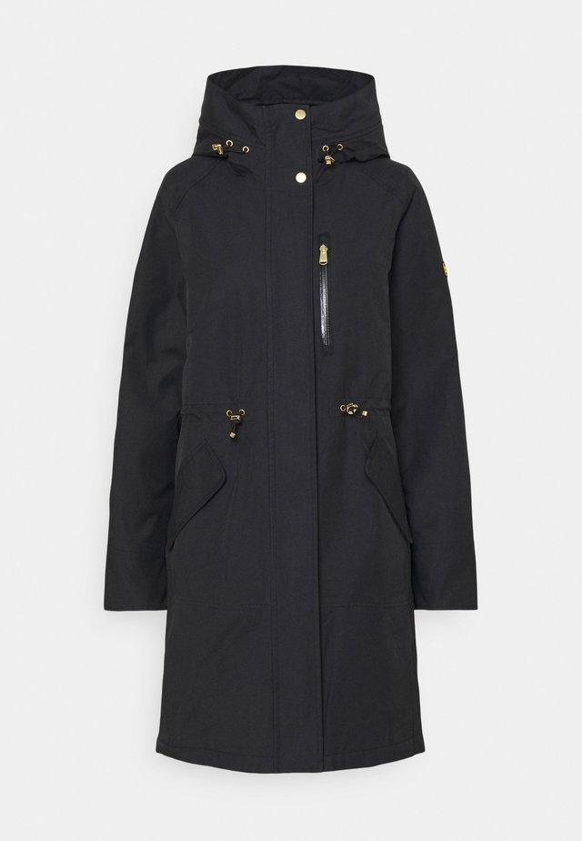 RUEKA JACKET - Klasický kabát - black