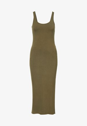 YASBLAX LONG DRESS - Maxi dress - stone gray