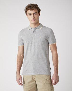 SS PIQUE - Polo shirt - grey melange