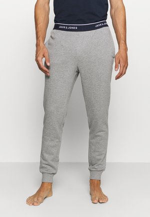 JACLOUNGE PANTS - Pyjamasbyxor - light grey melange