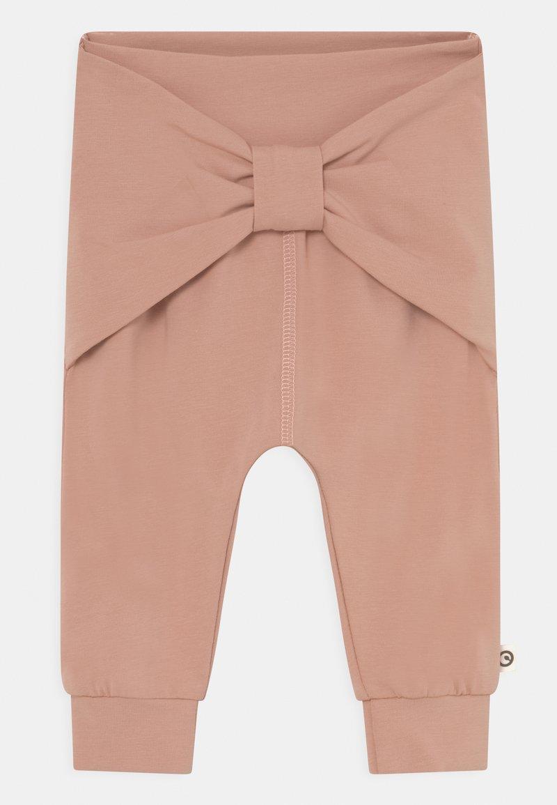 Müsli by GREEN COTTON - COZY ME PRETTY BABY - Trousers - dream blush