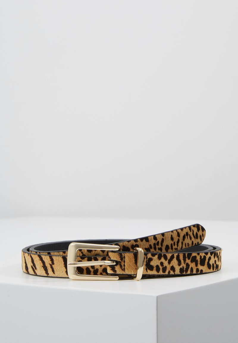 Topshop - SKINNY TIGER - Belt - multi-coloured