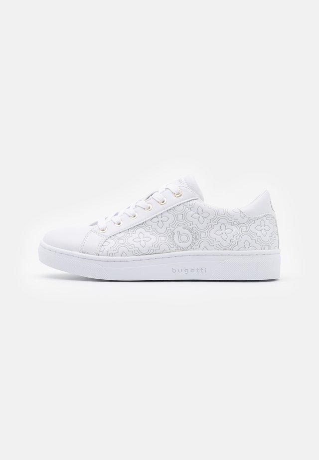 ELEA - Sneakers basse - white/gold