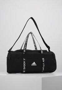adidas Performance - 4ATHLTS ESSENTIALS 3STRIPES SPORT DUFFEL BAG - Urheilukassi - black/white - 0