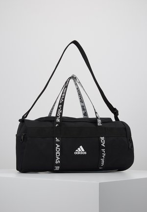 4ATHLTS ESSENTIALS 3STRIPES SPORT DUFFEL BAG - Torba sportowa - black/white