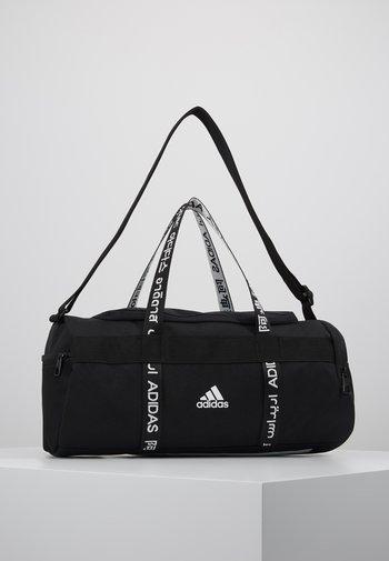 4ATHLTS ESSENTIALS 3STRIPES SPORT DUFFEL BAG - Treningsbag - black/white