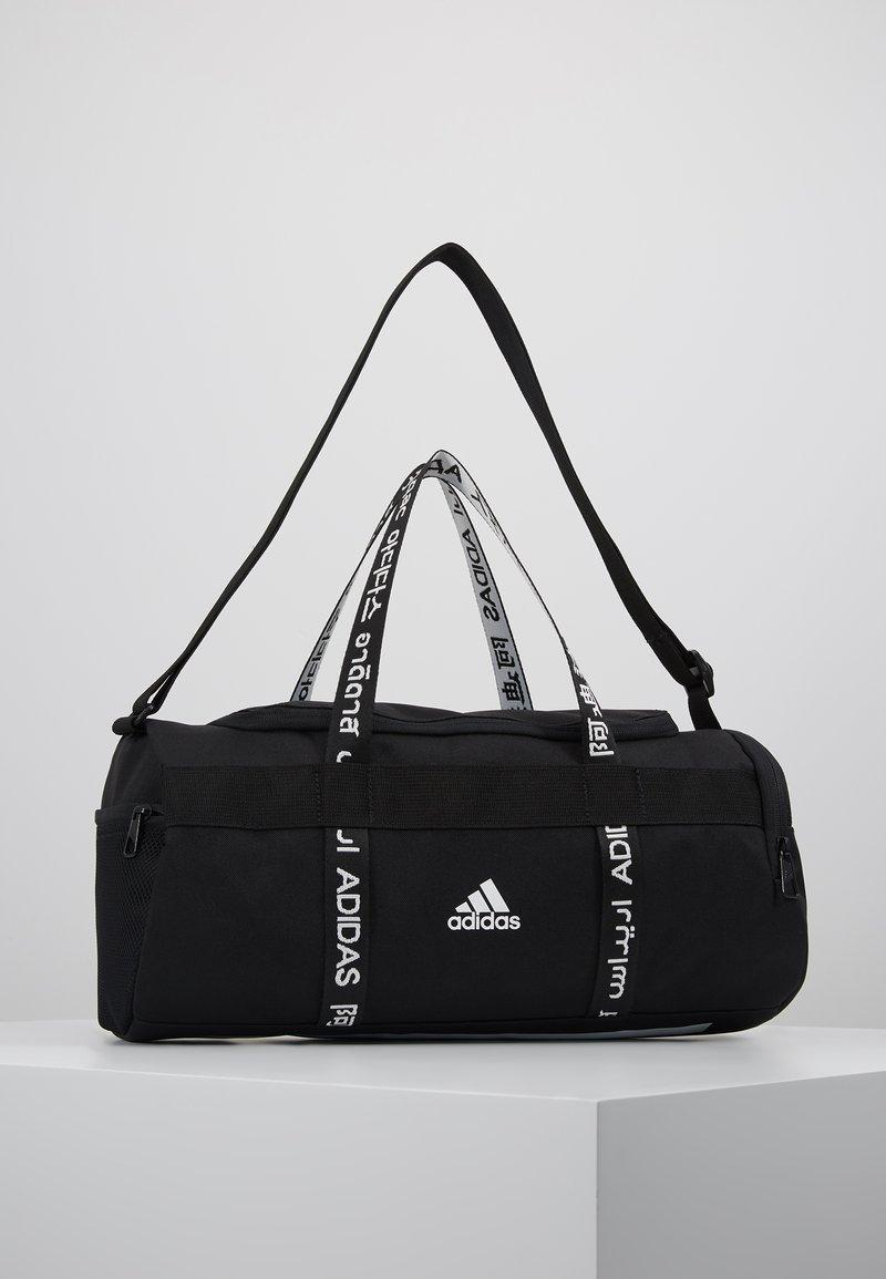 adidas Performance - 4ATHLTS ESSENTIALS 3STRIPES SPORT DUFFEL BAG - Urheilukassi - black/white