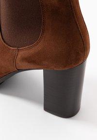 PERLATO - Classic ankle boots - cognac - 2