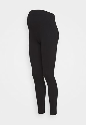 PONTE LEGGING - Leggings - Trousers - black
