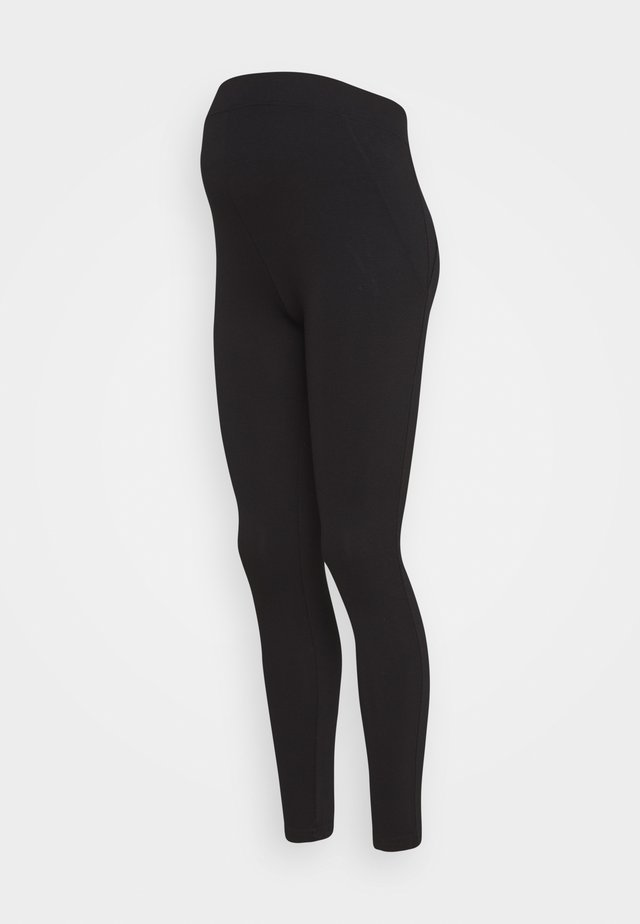 PONTE LEGGING - Leggings - black